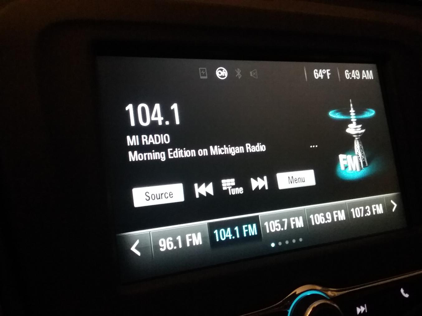 No RDS (radio name and songs) on MyLink 7'' in LS | Chevrolet Malibu