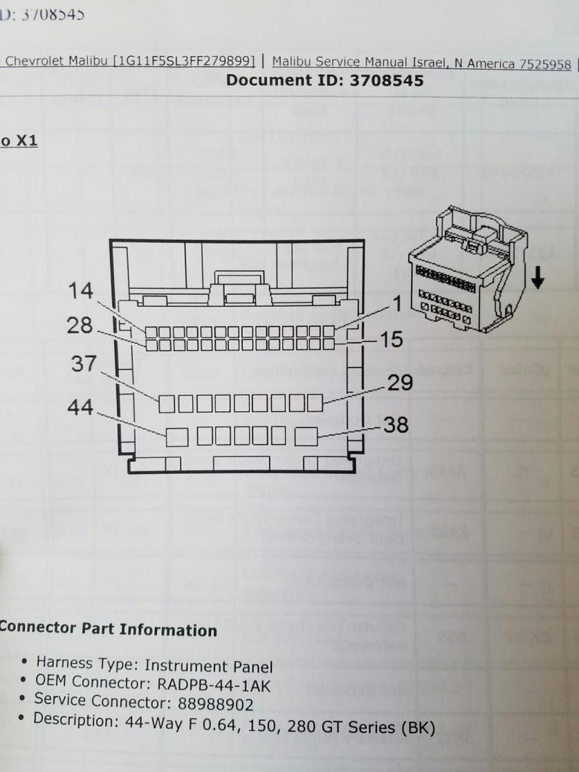 Chevy Malibu Stereo Wiring Diagram