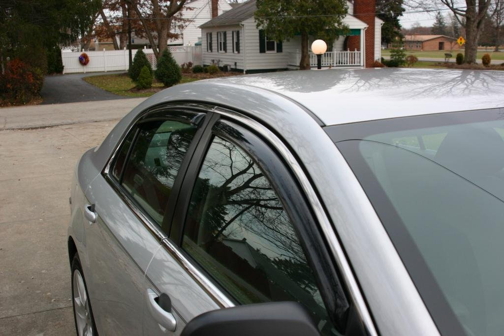 Avs Vent Shades >> 2010 Malibu Ls With Avs In Channel Vent Shades Chevrolet