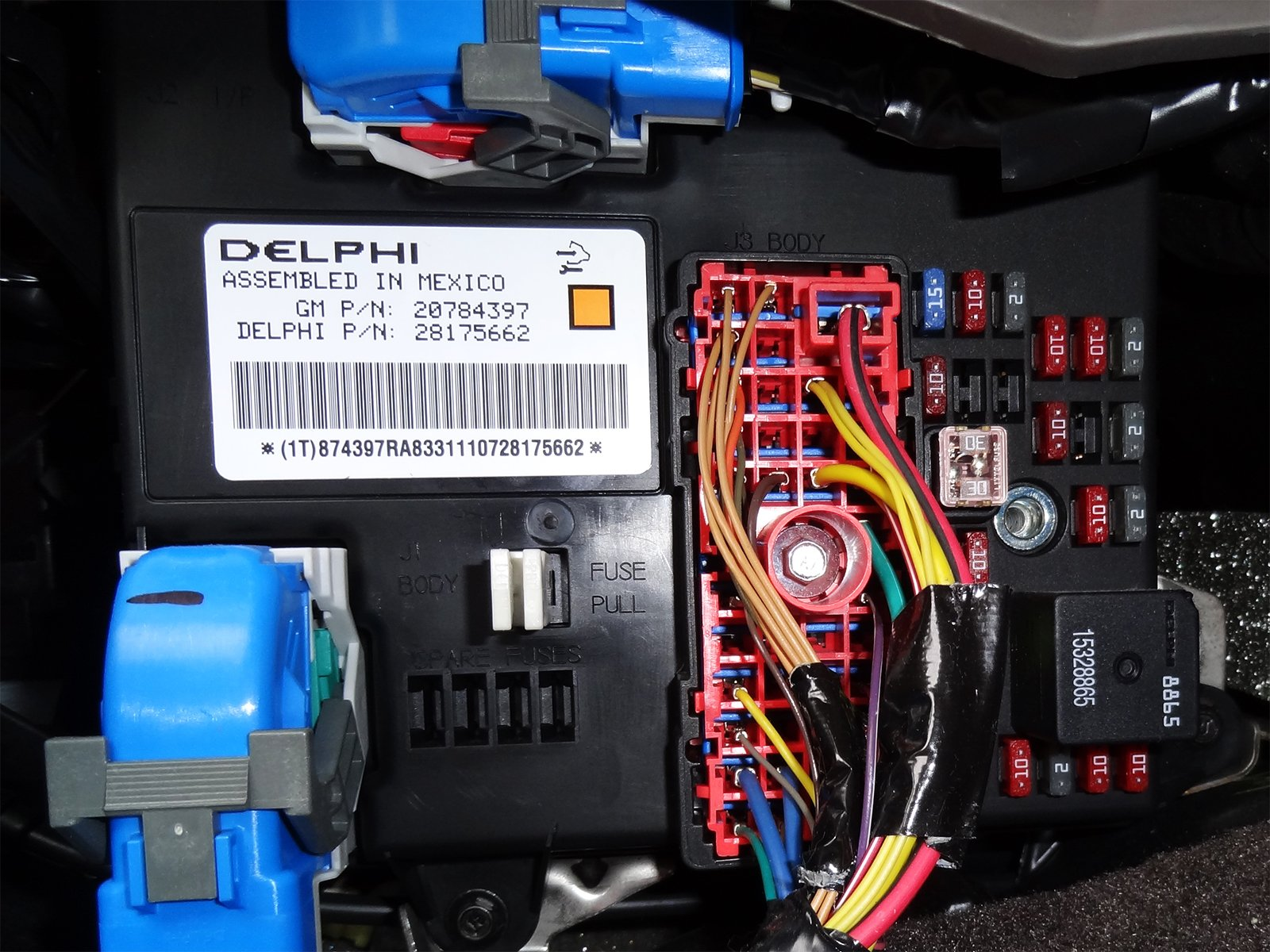 Which fuse powers the radio? | Chevrolet Malibu Forums