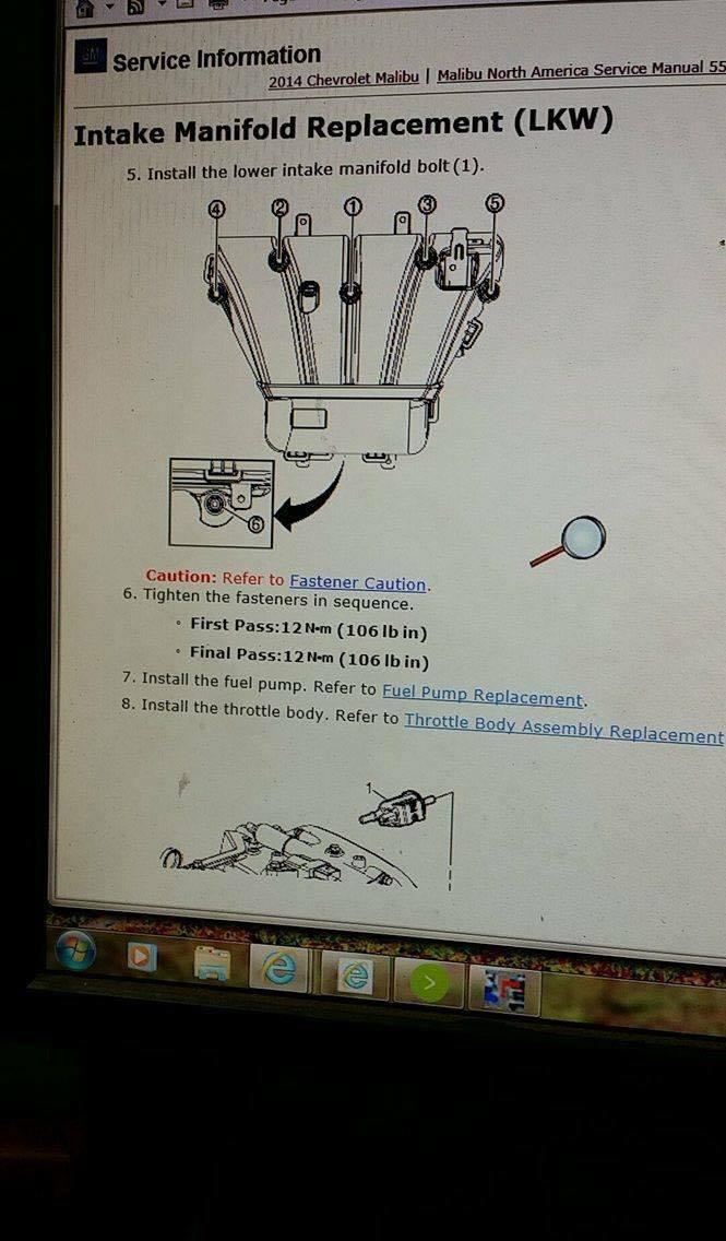 engine torque specs   Chevrolet Malibu Forums
