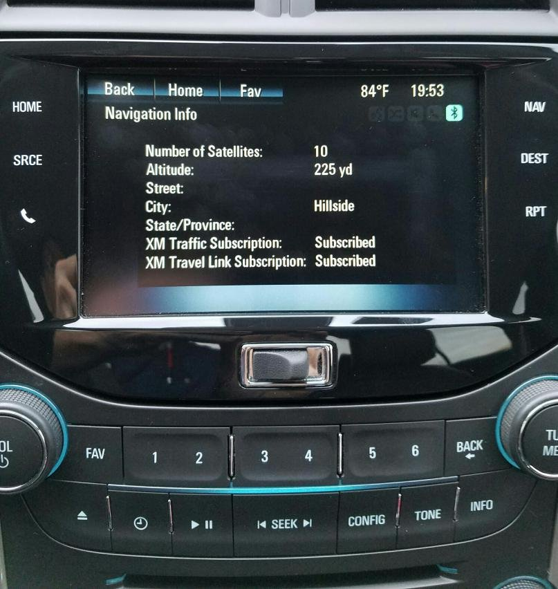 Navigation Buttons on LCD Screen not working   Chevrolet