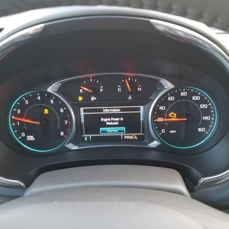 Car very rough and engine power reduced | Chevrolet Malibu