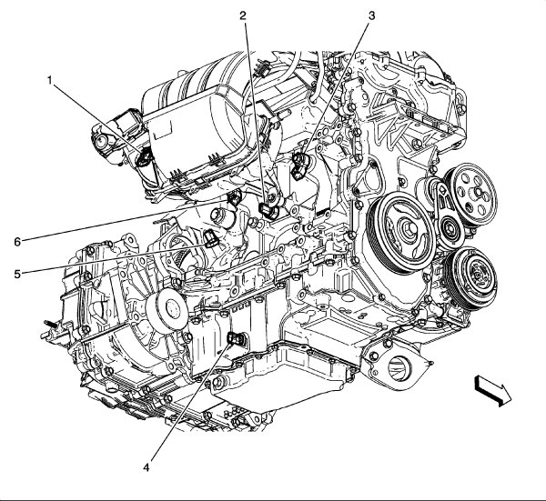 Oil pressure switch location and is it simple?   Chevrolet Malibu Forums