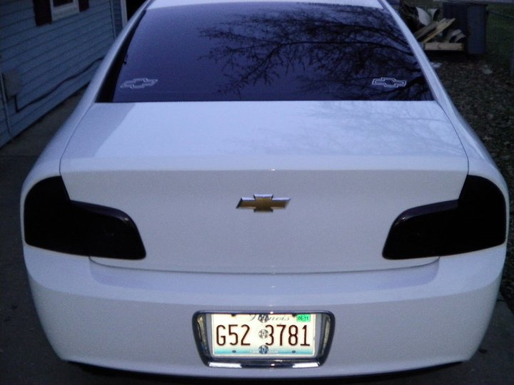 Blacked Out Tail Lights Page 2 Chevy Malibu Forum Chevrolet Forums